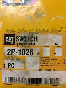Caterpillar Switch 2p 1026 2 Available