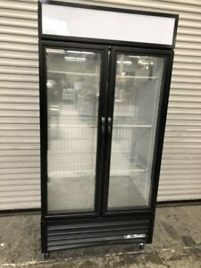 2 Glass Door Reach In Display Freezer Commercial Nsf True Gdm 35f tsl01 8546
