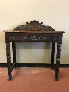 Antique French Console Table Writing Desk