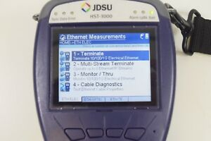 Jdsu Hst 3000 Cable Tester Color Screen W Hst 3000 Sim Module No Charger
