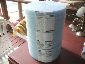 3 Dow Sill Seal Styrofoam Polystyrene Unfaced Insulation Rolls 5 1 2 In X 50 Ft
