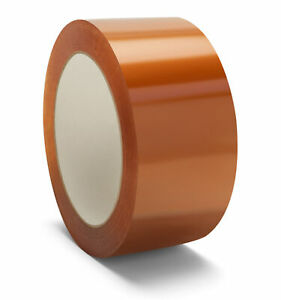 1 8 Mil Natural Rubber Tape 3 X 110 Yds 330 Ft Clear Packing Tapes 576 Rolls