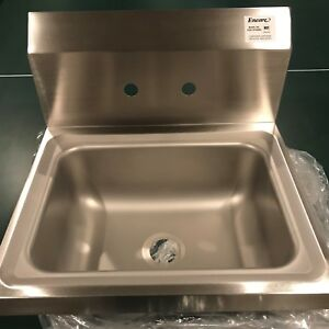 Encore Stainless Steel Hand Sink Model Fs20 101405b2 With Faucet