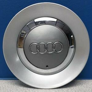 One 2002 2005 Audi A4 58746 16 5 Spoke Wheel Center Cap 8e06011657zj New