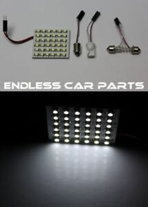 1x White Hid Xenon Lamp Color Dome Interior Light Bulb 36 Smd Led Panel S