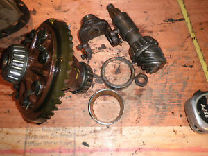 Willys Jeep F Head 4 Cyl Truck Front Differential Ring Pinion 8 43 Gears 49 56