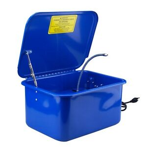Steel Core 3 1 2 Gallon Electric Portable Parts Washer With Solvent Pump