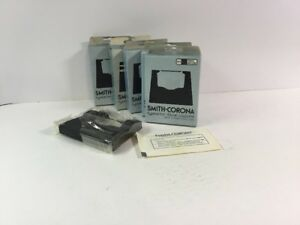 Typewriter Ribbon Rare Smith Corona 102 Black Nylon