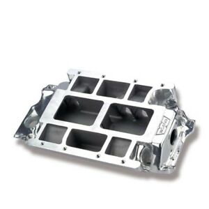 Weiand 7151p Bb Chevy 396 502 Supercharger Intake Manifold Polished