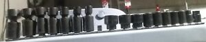 Mac Tools 3 8 Drive Impact Swivel And 12 Point Sockets Sets With Metal Rail
