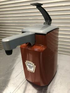 Asept Bbq Sauce Counter Top Condiment Dispenser Heinz 9126 Commercial Hand Pump