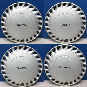 1988 1989 Toyota Celica Gt 61046 13 Hubcaps Wheel Covers Used Set 4