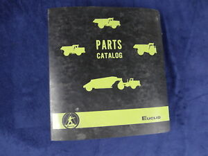 Euclid Model 301 Ld Dump Truck Service Parts Manual Catalog Sn 69450