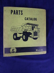 Euclid Model 6 Ld Truck Service Parts Manual Sn 9603