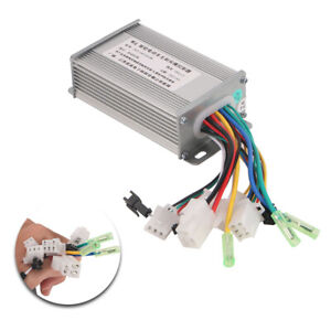 36v 48v 350w Electric Bicycle E Bike Brushless Dc Motor Speed Controller Us Ship