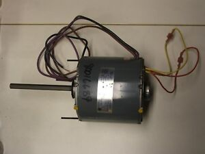 Emerson Electric Motor 460v 1 3hp 1ph 48y 825rpm Ka55hxfnj 1473
