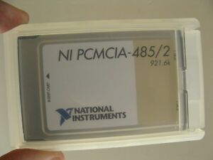 National Instruments Ni Pcmcia 485 2 921 6k Data Acquisition Card