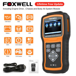 Foxwell Nt520pro Obd2 Scanner Diagnostic Full System Abs Srs Epb Epb Oil At Tool