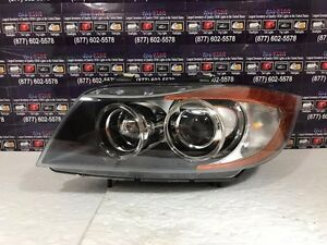 2006 2007 2008 Bmw 3 Series New Hella Left Headlight Hid Bare