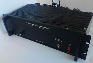 200 W Power Amplifier Grommes Precision G201 Commercial Heavy Duty Audio solid