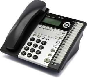 At t 1040 4 line Expandable Business Phone With Intercom C stock Refurbished