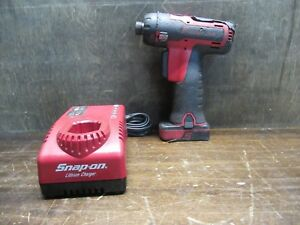 Snap on Model Cts761 1 4 Hex Microlithium Screwdriver 14 4 Volt Pre owned
