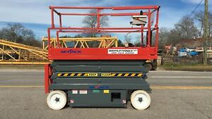 Skyjack 3226 Electric Scissor Lift refurbished Warranty Stock No Lead Time