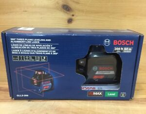 Bosch 3 Plane Self Leveling Alignment Cross Line Laser Level Gll3 300 new