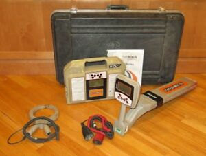 Ditchwitch 950r 970t Underground Subsite Pipe Cable Locator System