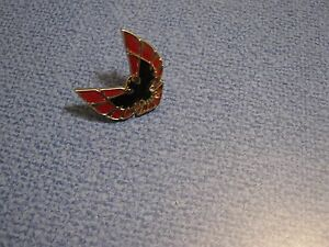 Nos Pontiac Firebird Emblem Sail Panel Emblem Ornament Gm Vintage Metal