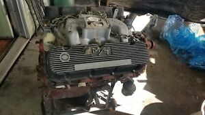 Chevy 454 Big Block Engine Motor 400 Transmission Mickey Thompson Valve Covers
