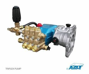 Pressure Washer Pump Plumbed Cat 5cp3120 4 5 Gpm 3500 Psi 8076 Reducer
