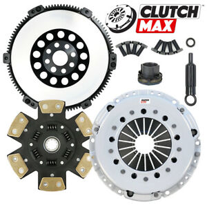 Cm Stage 4 Clutch Kit Solid Chromoly Flywheel For 2001 2006 Bmw M3 E46 6 Speed