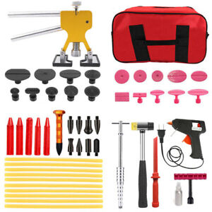 Paintless Dent Repair Tools Slide Hammer Puller Hail Removal Body Tap Us Kit
