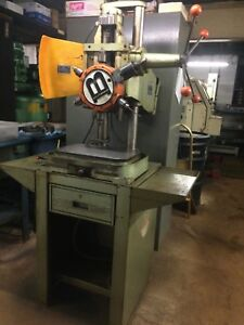 Burgmaster Houdaille Model 1 d Multi Spindle Drill