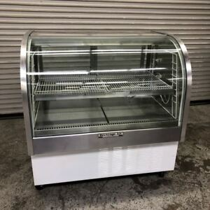 48 Curved Glass Refrigerated Bakery Display Case New Compressor Cdr4 1 9139 Nsf