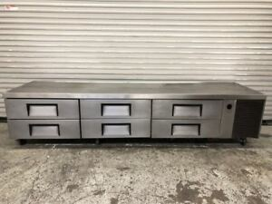 110 6 Drawer Refrigerated Chef Base Cold Equipment Stand Trcb 110 True 9140 Nsf