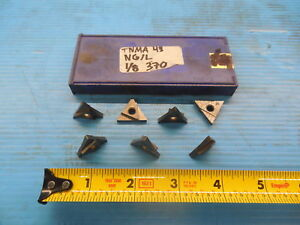 7pcs New Seco Tnma 43 Ng l 125 Wide Carbide Grooving Insert 1 8 Ngl Machinist