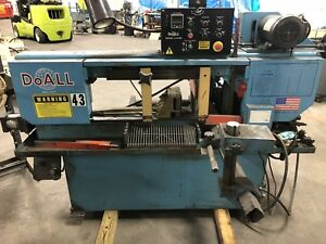 Do all C 916a Automatic Horizontal Bandsaw