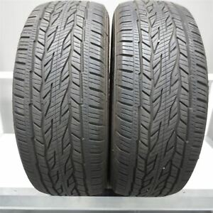 275 55r20 Continental Crosscontact Lx20 Ecoplus 111s Tire 10 32nd Set Of 2
