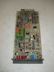 Foxboro Analog Control Card Circuit Board Model 2dc k St D