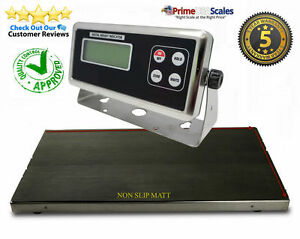 Heavy Duty 550 X 0 2 Lb Veterinary Or Industrial Freight Scale Livestock Scale