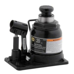 Omega 10208 20 Ton Shorty Version Bottle Jack