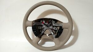 03 06 Oem Ford Expedition Factory Tan Steering Wheel With Switch s