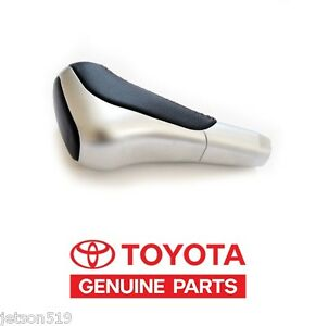 Toyota Tundra Sequoia 12 14 2014 Genuine Oem Trd Leather aluminum Shift Knob