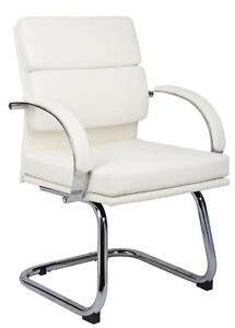 Boss Caressoftplus Executive Guest Chair White