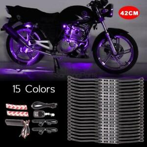 60 5050 Smd Top Quality Waterproof Motorcycle Led Strip Lighting Kit 12v 20pcs