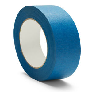 Blue Painters Masking Tape 1 Inch X 60 Yards 5 6 Mil 144 Rolls Free Shipping