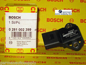 Audi Volkswagen Map Thrust Sensor Bosch 0281002399 New Oem Vw