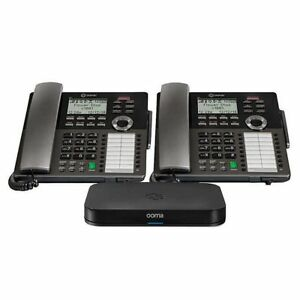 Ooma Small Business Starter Kit Package no Tax Office Phone